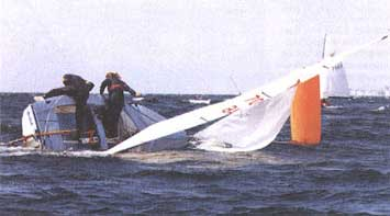 sailboat capsize